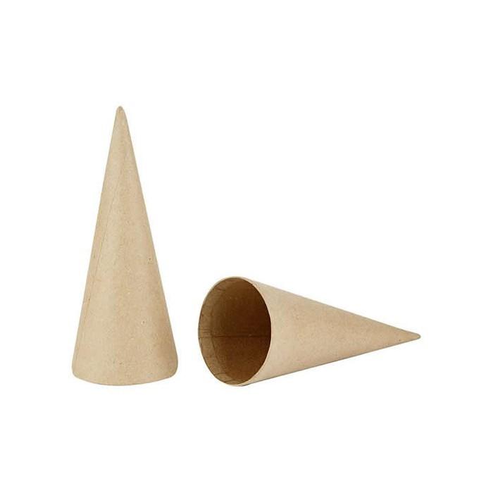 Carboard Cone, Ø8cm/H20cm, 5 pcs