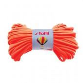 Tubular resilient strip, Ø5mm/1m, orange