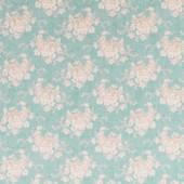 Tilda White Flower Teal - 50x55cm