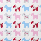 Abbygale Wrap Scotties grey/pink