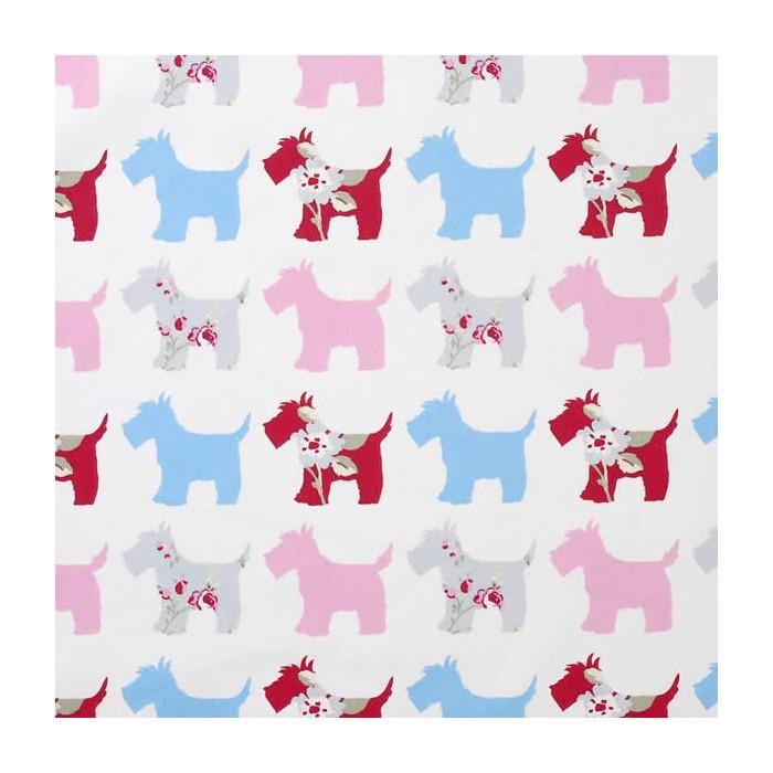 Abbygale Wrap Scotties grey/pink