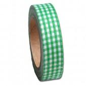 Maya Road - Fabric Tape Vichy vert