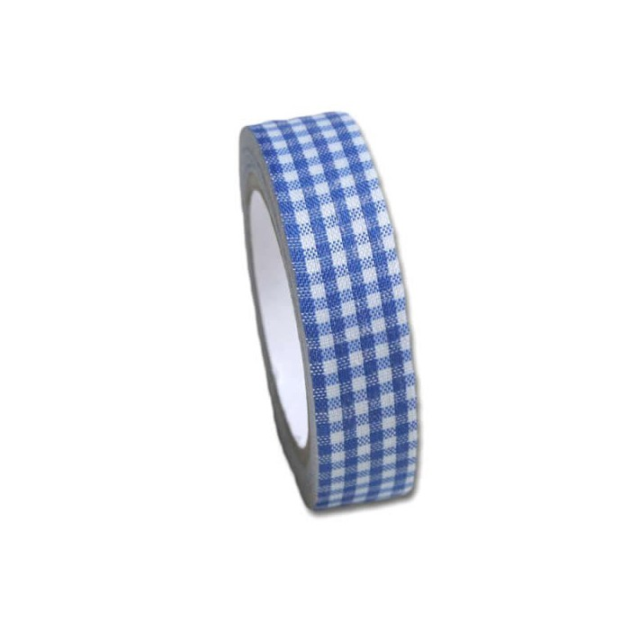 Maya Road - Fabric Tape Vichy blue