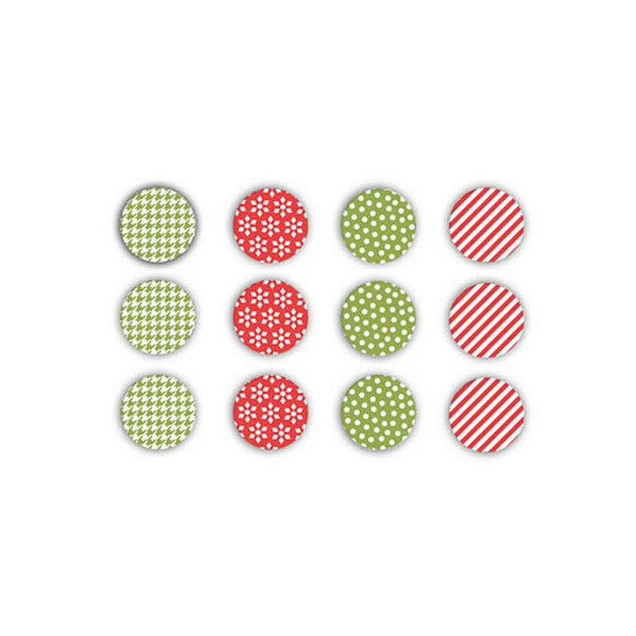 WRMK - Yuletide Fabric Brads