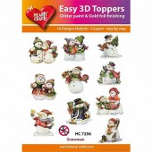 Easy 3D Toppers - Christmas