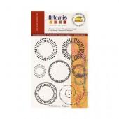 Tampons en silicone, Cercles et points
