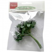 Bouquet de baies, argent