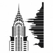 Stencil A3 New-York