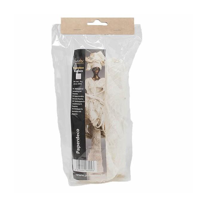 Powertex -Paperdeco white 30g