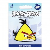 Iron-on motif 6x6cm Angry Birds yellow