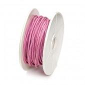 Ficelle de papier armée, 1mm/10m, pink