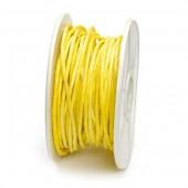 Ficelle de papier armée, 1mm/10m, jaune