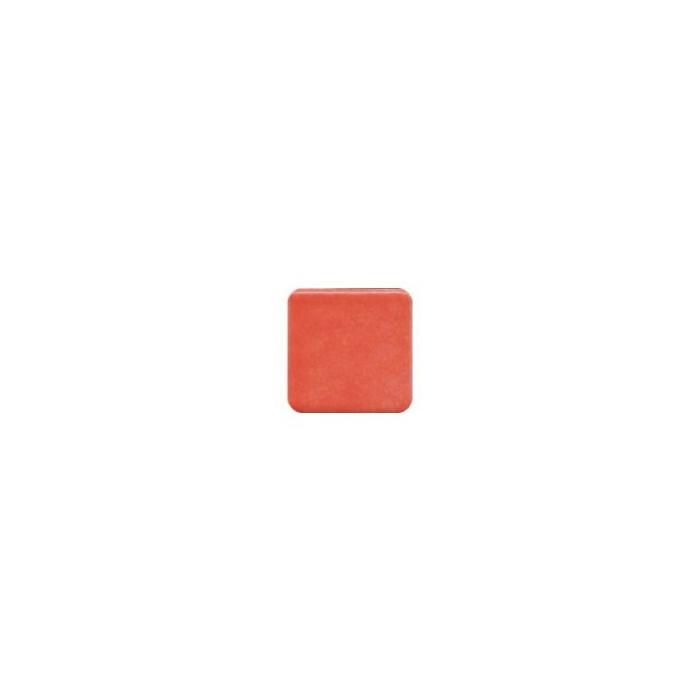 Smalted tiles Briare, coral