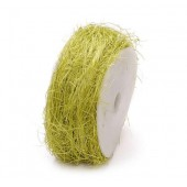 Sisalwrapped wire 10m, green
