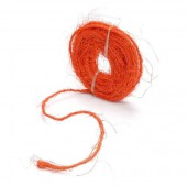 Sisal cord 5m, orange