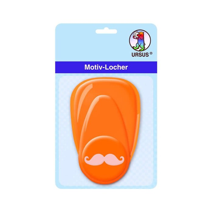 Craft Punch mustache 25mm
