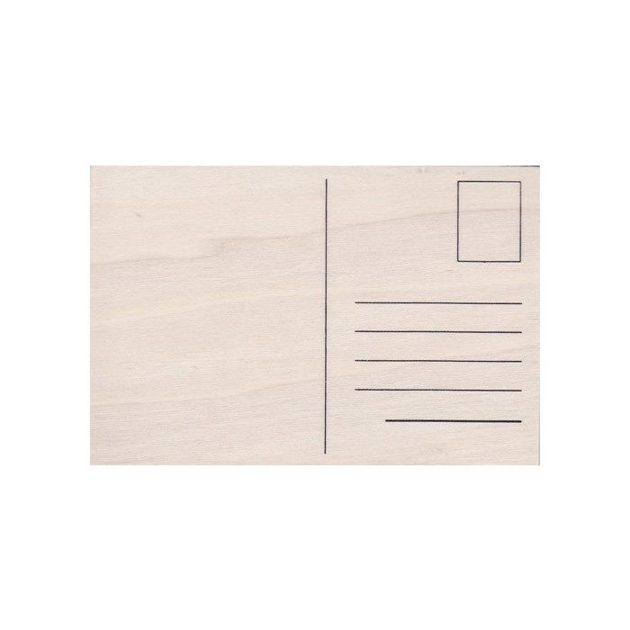 Wooden postcard A6