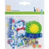 Cart-us Embellishment kit Baby Boy
