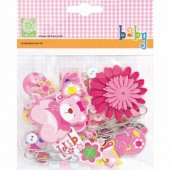 Cart-us Embellishment kit Baby Girl