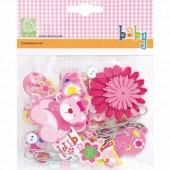 Cart-us Embellishment kit Baby Girl