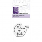 Clear stamp, Baby carriage