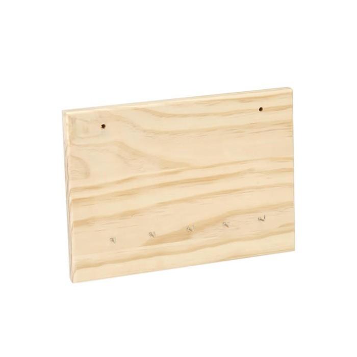 Wooden key board 24x17cm