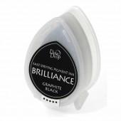 Brilliance - Coussin encreur noir graphite
