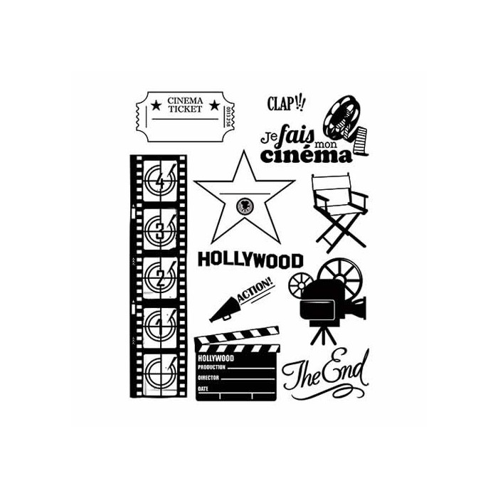 Clear stamps, movie