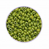 Rocailles 2.5mm, pearly, olive