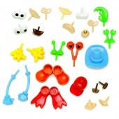Accessoires déco en plastique pour personnages