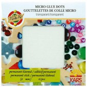 Glue dots Ø3mm, 768 pcs
