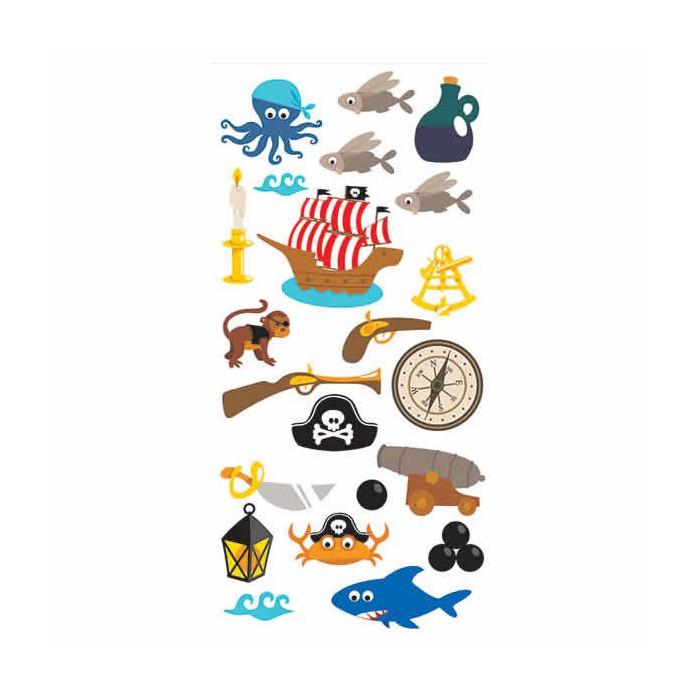 Puffy Stickers, Pirates