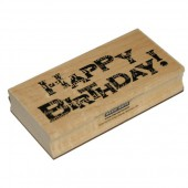 Hero Arts - Rubberstamp Happy Birthday