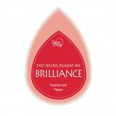 Brilliance - Coussin encreur coquelicot