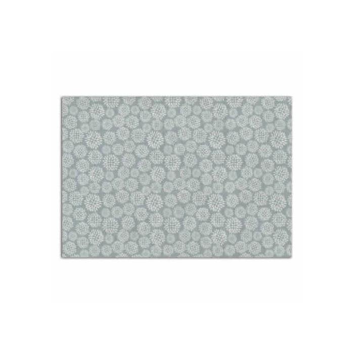 TOGA - Adhesive Fabric Dahlia blue background
