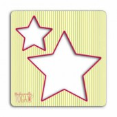 Creative stencil for sewing, stars