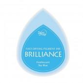 Brilliance - Coussin encreur bleu ciel
