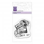 Clear stamp, postal stamp