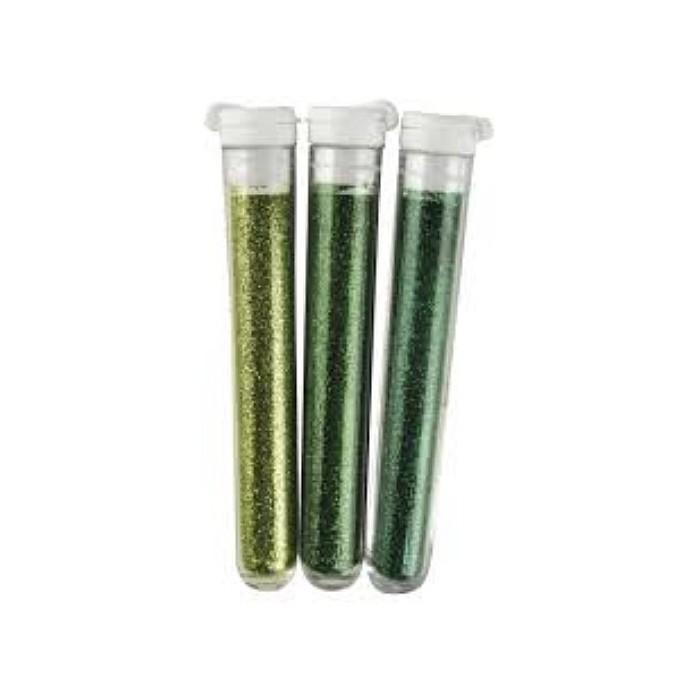Fine Glitter - 3 colors green