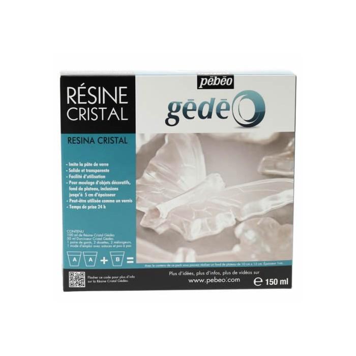 Crystal resin Gédéo