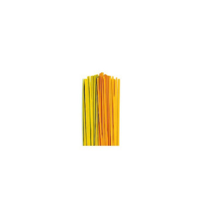 Quilling Stripes Avocado (green/yellow)