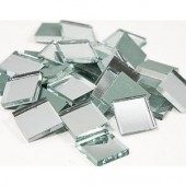 Mirror tiles, 2x2cm, 40 pcs