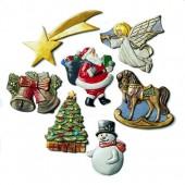 Moule motifs de Noël, 40-70mm