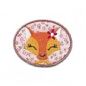 Iron-on motif 6cm Lady Fox