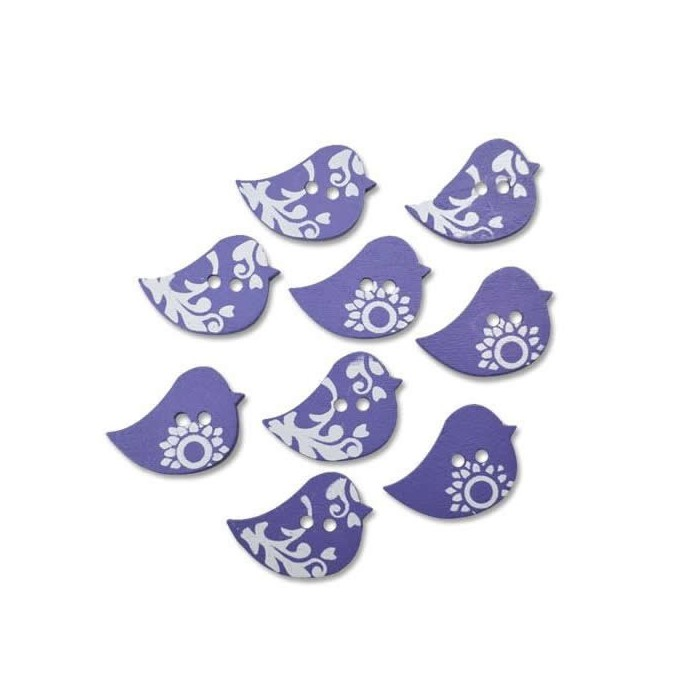 Buttons For the birds, 28mm, 8 pcs