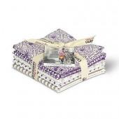 Gütermann - Tissus créatifs French Cottage violet/beige