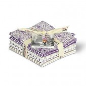 Gütermann Fat Quarters - French Cottage purple/sand