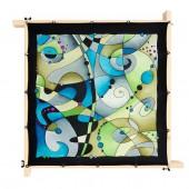Petit foulard Buzz, pongé 08, 55x55cm