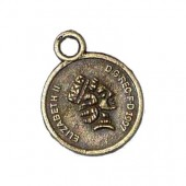 Hanging Coin, 13mm, 3 pcs