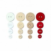 Artemio - Love Buttons, 36 pcs, 9-20mm